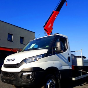 crane for delivery cars iveco