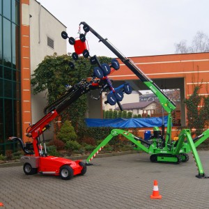 mini crane glass robot xc