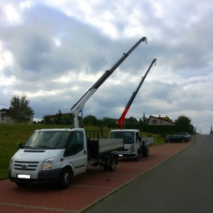 crane for delivery cars